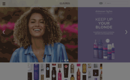 Clairol website