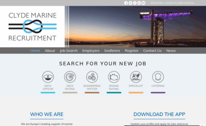 Clyderecruit com website  Clyde Marine Recruitment