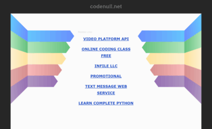 Codenull net website  Free Full Code, PHP Scripts, Nulled Scripts