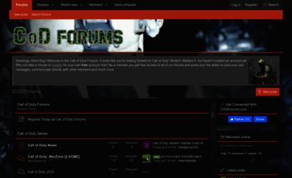 cod ww2 forums