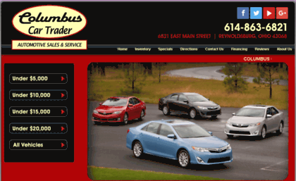 Columbuscartrader Com Website Columbus Car Trader Used Cars