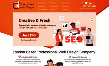 Companieswebdesign Co Uk Website Web Design Company London Cheap Website Design London Services