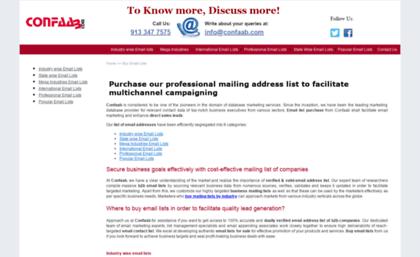 buy database lists