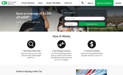 Consumerreports1 Zag Com Website Consumer Reports Car Buying