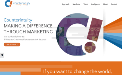 Counterintuity com website  Digital Marketing Agency