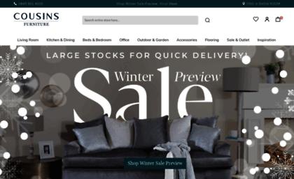 Website Cousins Furniture Home Cousins Furniture