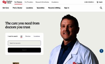 Csmc edu website  A Non-Profit Hospital in Los Angeles