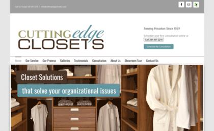 Cuttingedgeclosets.com