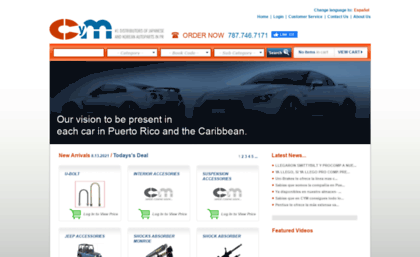Cymdistributors com website  CYM | Distributors of Japanese