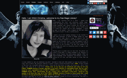 Darkbooks org website  Dark Books Magic Library