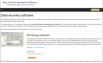 Datarecoveryengineer com website  Data recovery software