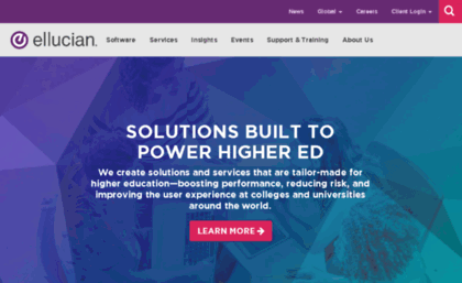 Datatel com website  Software and Services for Higher