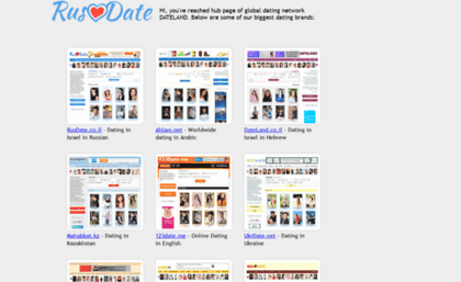 Dating and chatting site