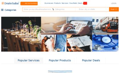 Dealerdice com website  Dealerbaba - Indian Manufacturers
