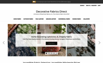 Decorativefabricsdirect Com Website Decorative Fabrics Direct