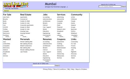 Delhi 123list net website  Mumbai - Free Classified Ads