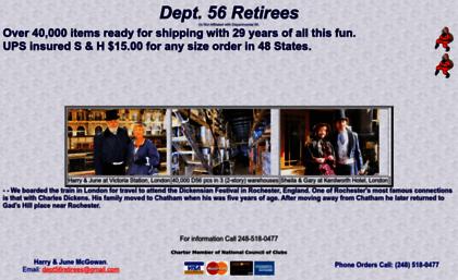 dept 56 retirees