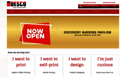 Descoonline website business card printing in dubai printing descoonline reheart Choice Image