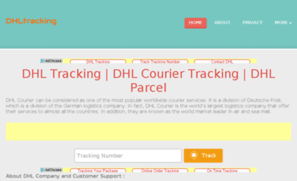 Dhltracking org website  DHL Tracking | DHL Courier Tracking