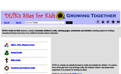 dltk kidscom - Dtlk Kids Crafts