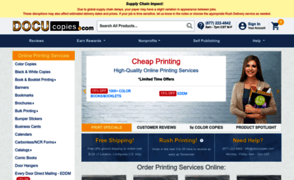 docucopies com website online printing and cheap color copies