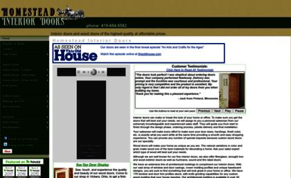 Door.cc Website. Interior Doors | Wood Doors | Exterior Doors ...