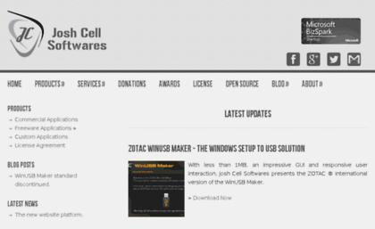 Download.joshcellsoftwares.com website.