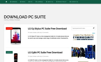 lg pc suite g3 download