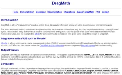 DRAGMATH MOODLE EPUB DOWNLOAD
