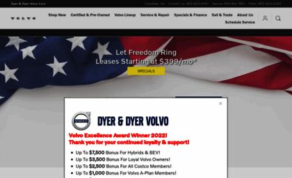 Dyervolvo Com Website New Used Cars Volvo Dealer