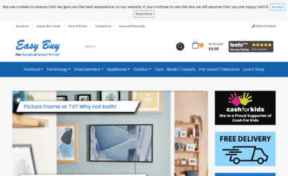 Easybuy Uk Com Website Pay Weekly Electricals Appliances Home