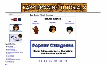 Easydrawingtutorials Com Website Home