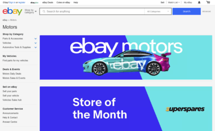 Ebaymotors Com Au Website Motors Products For Sale Ebay