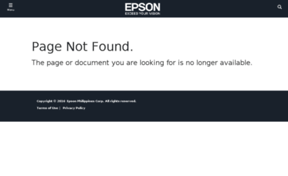 Echannel epson com sg website  Not Found | Epson Philippines