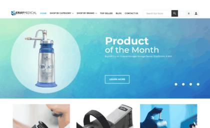 Eraymedical com website  ERAY MEDICAL SUPPLIES, Inc
