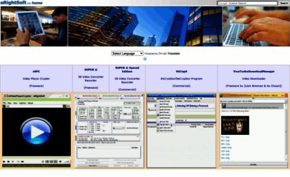 Erightsoft info website  SUPER © Free 3D Video Converter