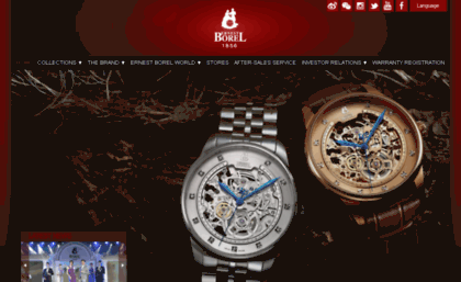 Ernestborel.ch website. Ernest Borel - Home. 993ee73e001