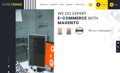 Evincemage com website  Verified Magento 2 Developers Extensions
