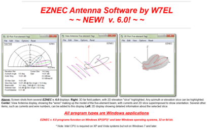 Eznec com website  EZNEC Antenna Software by W7EL