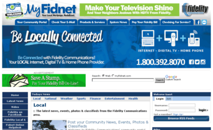 Fidnet com website  Fidelity Communications | The Latest News, Local