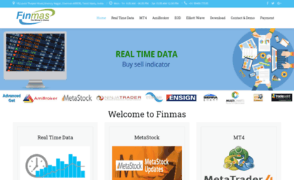 Finmas in website  Nse realtime data provider | Amibroker | MT4 rt