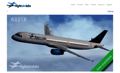 Flightsimlabs com website  Flight Sim Labs, Ltd  | Serves
