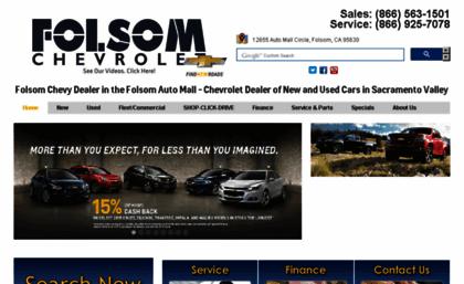 Chevy Dealership Sacramento >> Folsomchevy Com Website Folsom Chevrolet Sacramento Chevy