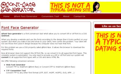 Fontfacegen com website  Index of /