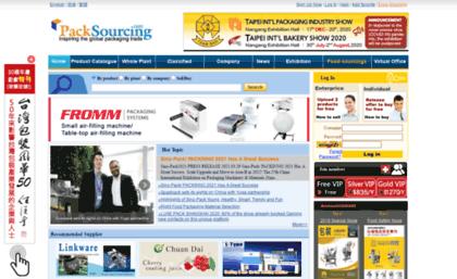 Foodsourcings com website  PackSourcing- Global packaging