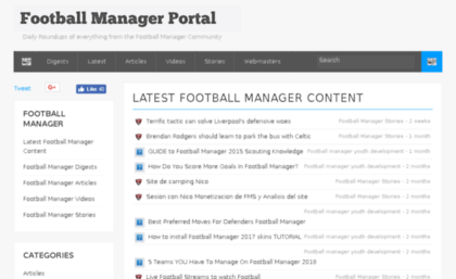 footballmanagerportal.co.uk