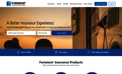 Foremostcom Website Insurance Quotes Home Auto Insurance