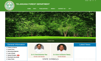 forests.telangana.gov.in