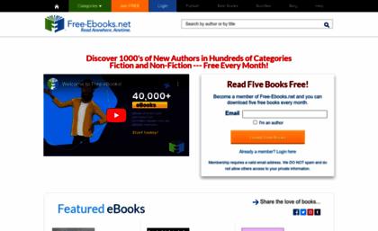 Free-ebooks net website  Free-eBooks net | Download free