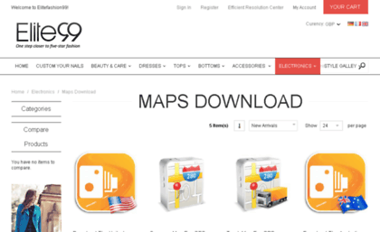 Freemapsupdate com website  Free maps download for Car GPS